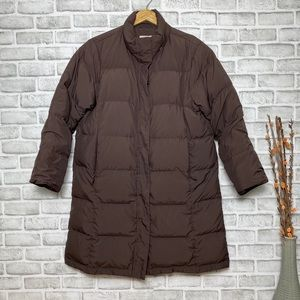 Vintage L.L.Bean Brown Puffer Jacket Petite's Sz L